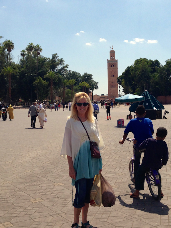 Typical weekend in Jemma el Fna Square Marrakesh
