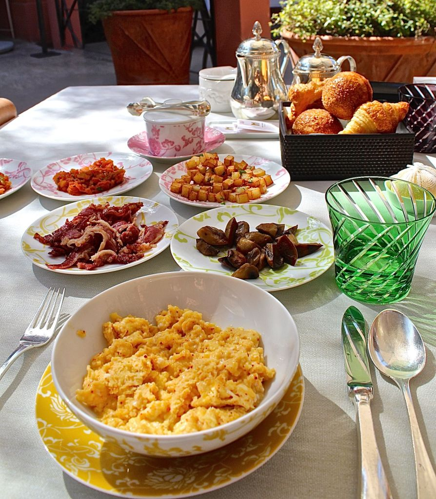 Breakfast at La Table, Royal Mansour Marrakech